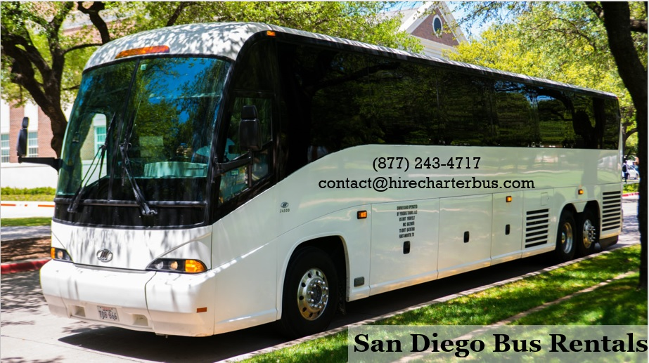 San Diego Bus Rental