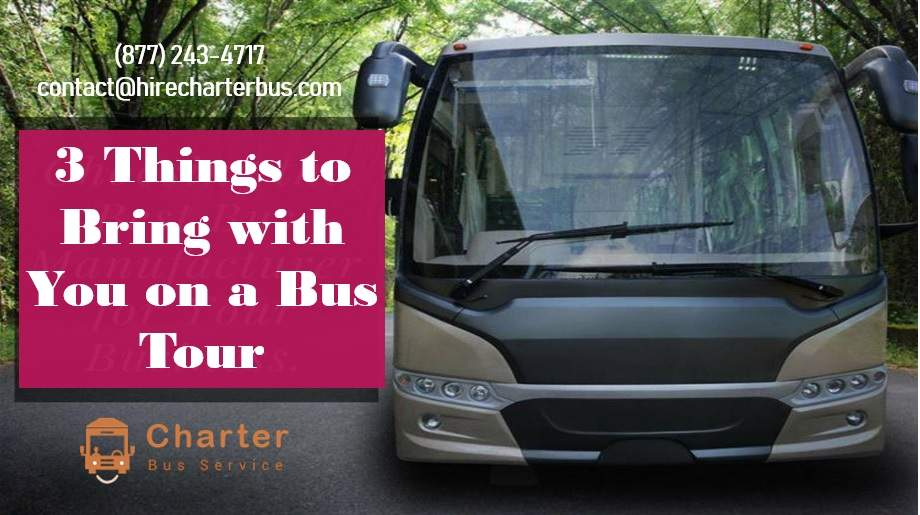 3 Things to Bring with You on a Bus Tour