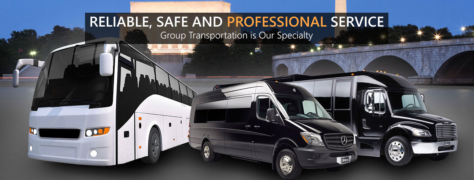 Cheap Charter Bus Service