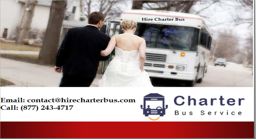 Sure, You Want Luxury for Your Wedding, and the Right Charter Bus Rental Dallas Offers Can Give It