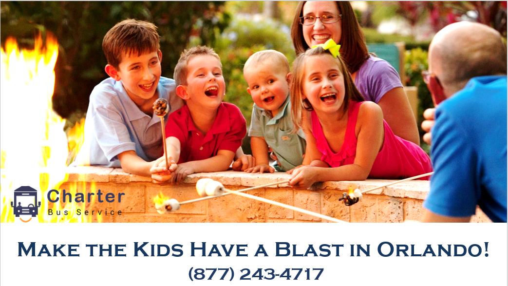 Make the Kids Have a Blast in Orlando with Hire Charter Bus