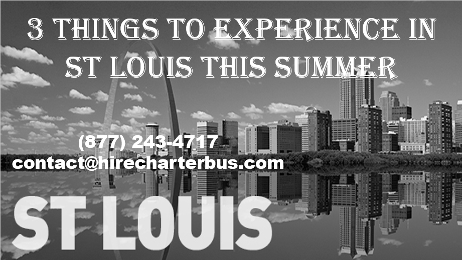 3 Things to Experience in St Louis This Summer
