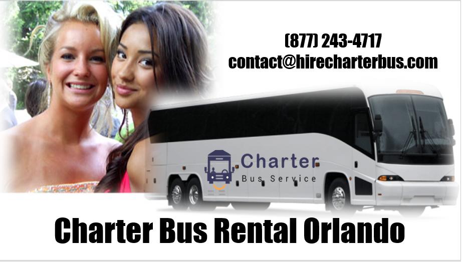 Charter Bus Rental Orlando FL
