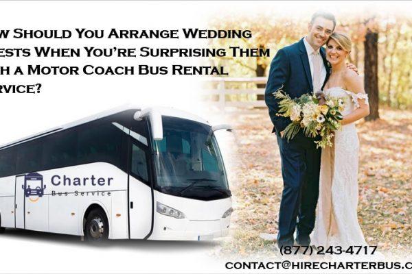 motor coach bus rental service