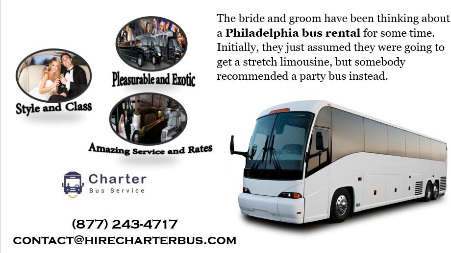 Philadelphia charter bus