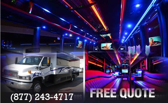 Affordable Party Bus Rental Near Me Best Party Bus
