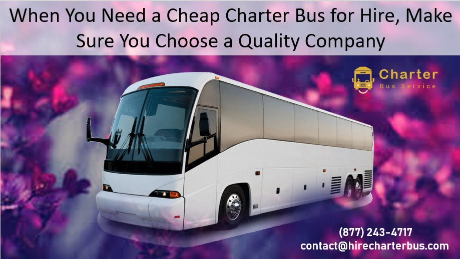 Charter Bus For Hire