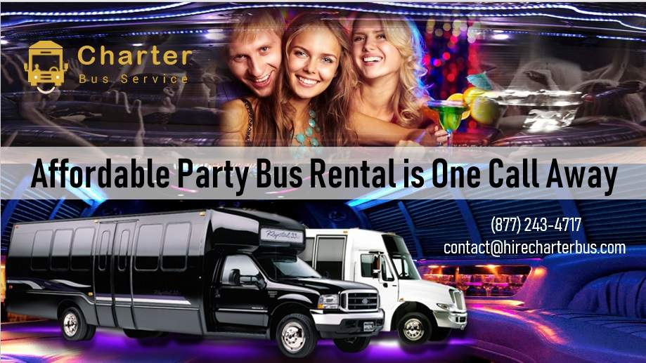 Affordable Party Bus Rental is One Call Away