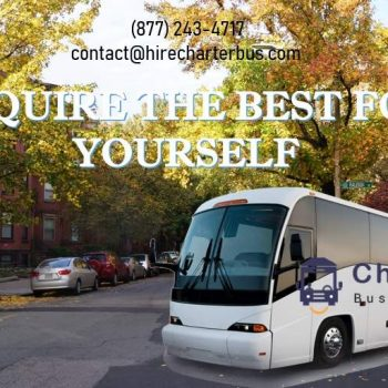 Booking a charter bus Boston