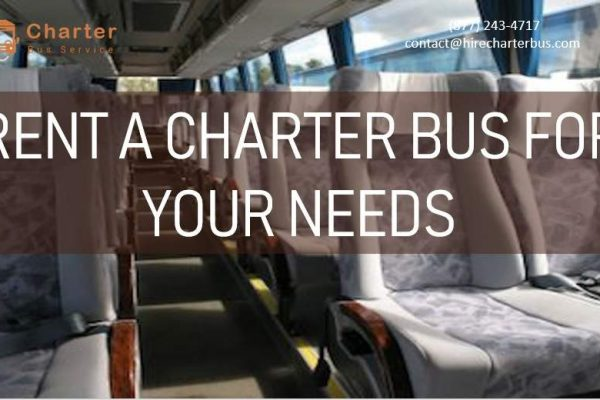 Rent A Charter Bus For Your Needs