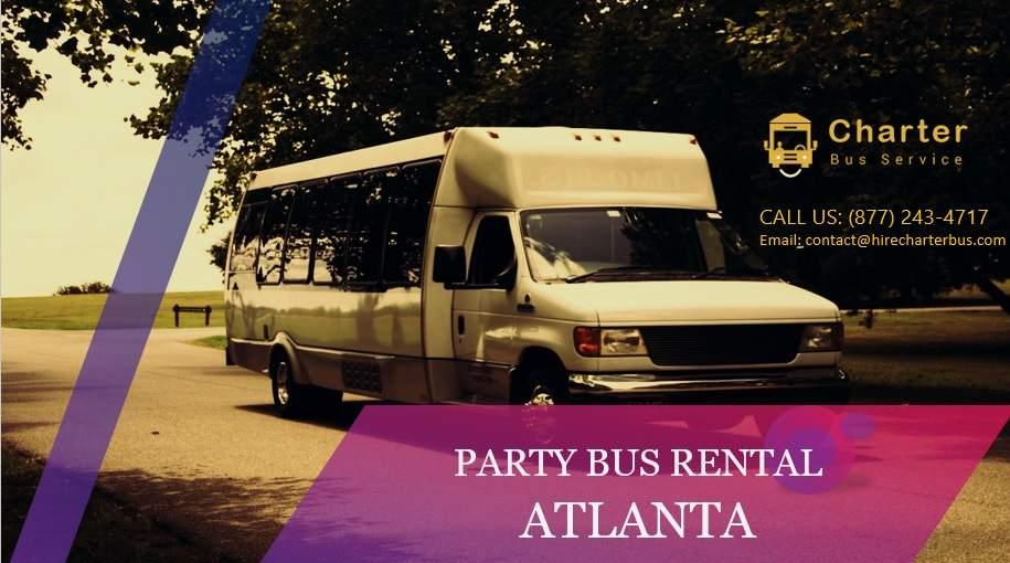 Atlanta Party Bus Rentals